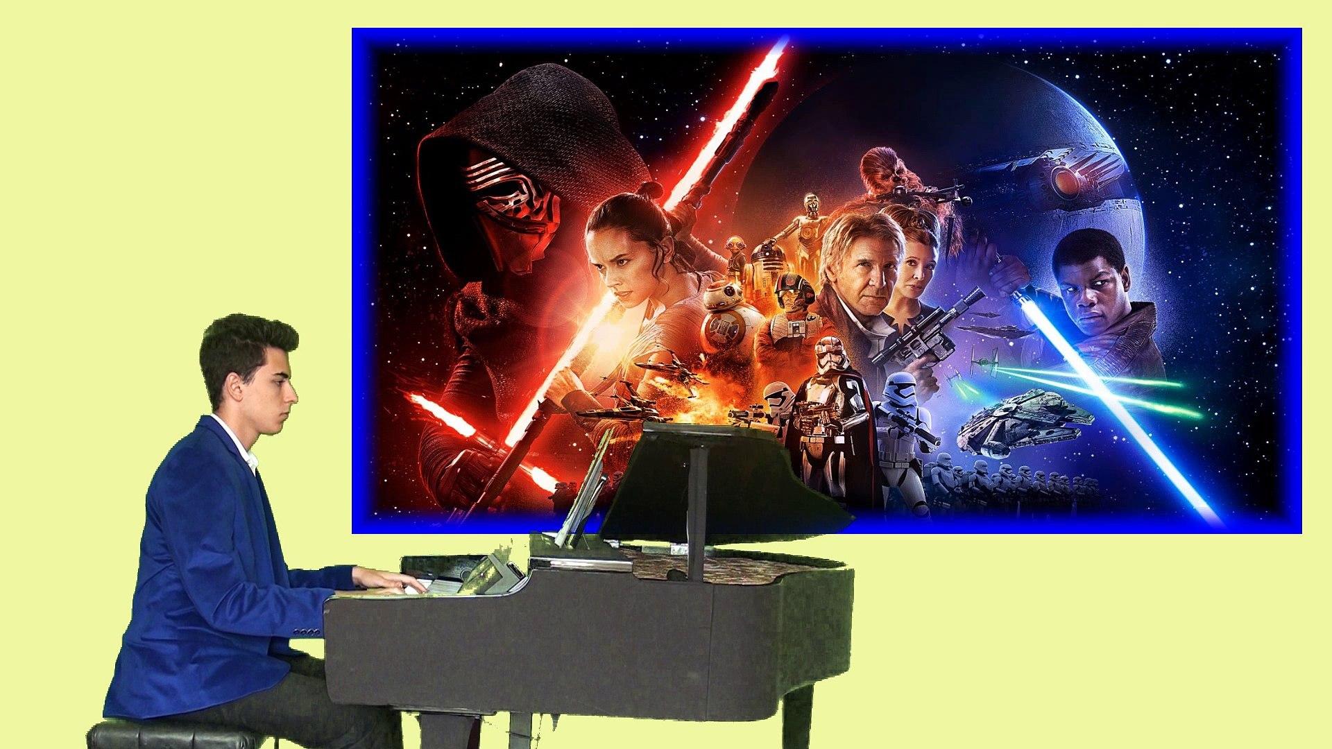 Star Wars 7 (Yıldız Savaşları) Sinema MÜZİKLERİ - JENERİK Müziği FİLM Ünlü Muhteşem Imperial March İ