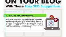 Increase Traffic to your Blog with These Easy SEO Suggestions
