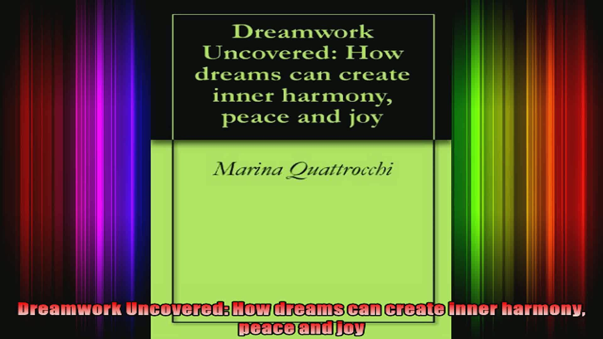 Dreamwork Uncovered