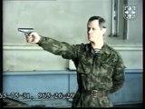 БАРС.Демонстрация стрельбы с одной руки,с двух рук,из различных положений,с разворота