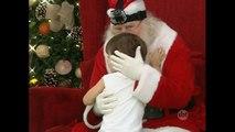 Câmera escondida mostra o que as crianças pedem ao Papai Noel