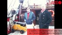 L'arrivée d'Etoile du Roy (ex-Grand Turk) à Saint-Malo