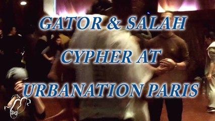 Salah and Gator | Popping Cypher | Urbanation Bondy 2013 | Step x Step Dance