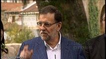 """Rajoy: """"A España no le conviene una coalición PSOE-Podemos"""""""