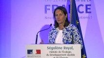 COP 21 pavillon de France débat autour de la transition énergétique discours d'ouverture de Ségolène Royal