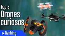 Los drones y robots más curiosos y espectaculares
