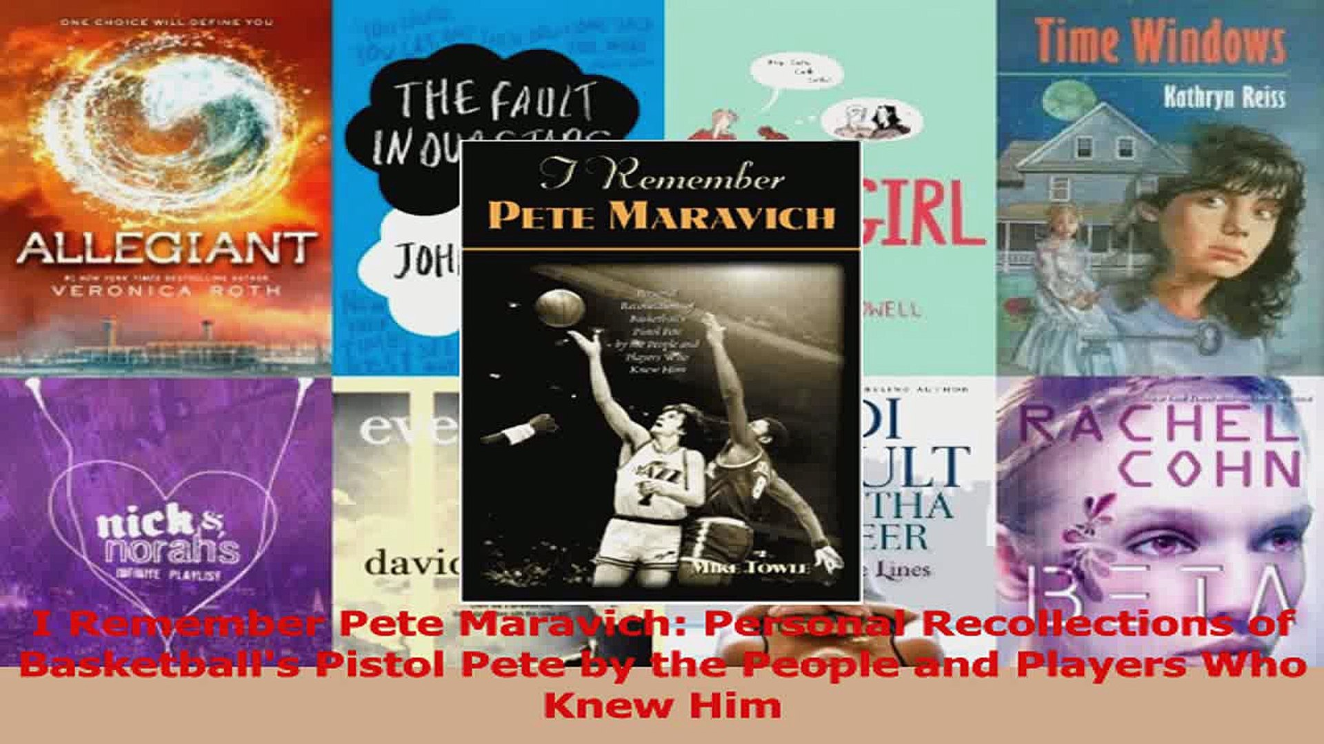 Download  I Remember Pete Maravich Personal Recollections of Basketballs Pistol Pete by the People P