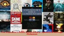 Download  The Expositors Bible Commentary Ephesians through Philemon EBooks Online