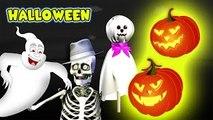 Finger Family | Halloween Skeleton | Pumpkin Cartoons Finger Family Nursery rhymes for chi