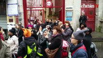 Parents en colère contre le non remplacement des instits à Saint-Denis