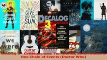 Download  Decalog 3  Consequences Ten Stories Seven Doctors One Chain of Events Doctor Who Ebook Free