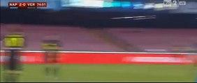 José Callejón 3:0 goal - Napoli vs Verona - 16/12/2015