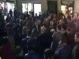 Mariano Rajoy dio un puñetazo en la cara durante un acto de campaña para las elecciones generales del domingo en su regi
