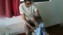 New 2016 Guy Shaves His Leg With a Blow Torch - Funny Videos