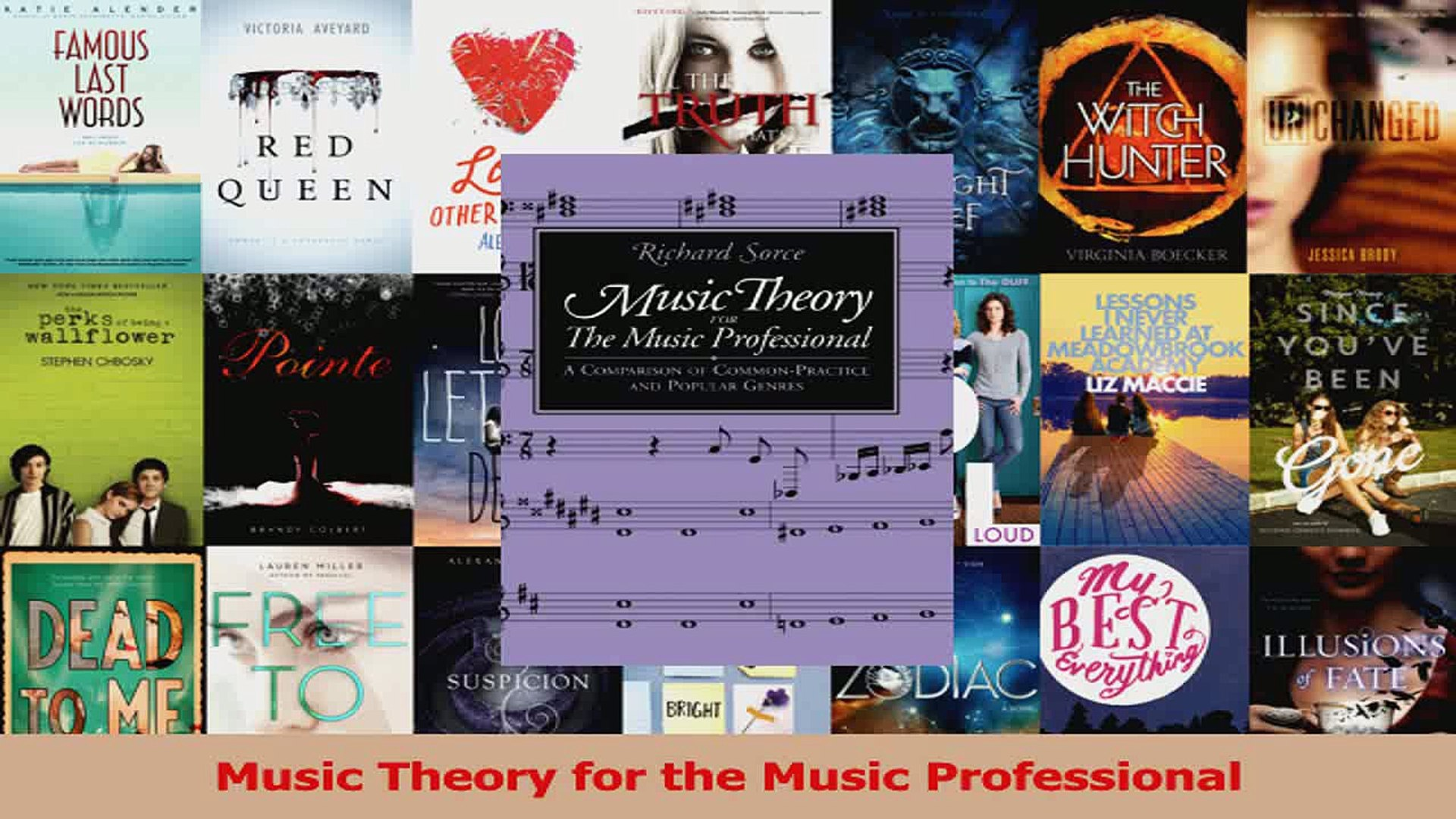 PDF Download  Music Theory for the Music Professional Download Online