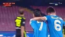 José María Callejón Goal - Napoli 3-0 Verona - 16-12-2015 - Coppa Italia