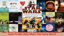 Read  Star Wars Omnibus Clone Wars Vol 1 The Republic Goes To War Star Wars The Clone Wars PDF Free