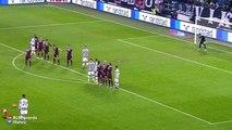 Paul Pogba Amazing Free Kick Goal Juventus 4 - 0 Torino (Coppa Italia) 2015
