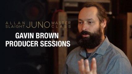 Gavin Brown Producer Sessions | Part 2 | Allan Slaight JUNO Master Class