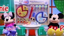 MICKEY MOUSE CLUBHOUSE Melissa & Doug Wooden Pizza & Birthday Cake + Minnie Mouse Surprise Presents