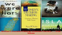 Womens DecisionMaking Common Themes    Irish Voices Download