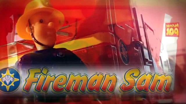 hello Kitty New Fireman Sam Episode with Toys Postman Pat Peppa Pig English Little Sunflowers