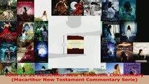 Read  John 1221 MacArthur New Testament Commentary Macarthur New Testament Commentary Serie Ebook Free