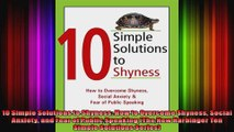 10 Simple Solutions to Shyness How to Overcome Shyness Social Anxiety and Fear of Public