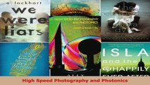 Read  High Speed Photography and Photonics Ebook Free