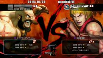 Hagejin (Zangief) vs MichaelTan (Ken) - USF4 - TL5A Round6 Battle7