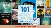 Read  101 Ways to Fall Asleep Ebook Free