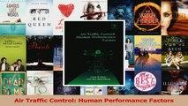 Read  Air Traffic Control Human Performance Factors Ebook Free
