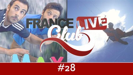 France Live Club #28 : des youtubers corses, des vêtements intelligents et une star du speed riding
