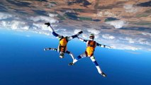 Dancing On Air: Synchronised Skydivers Put On Incredible Display