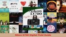 Nikon D700 Digital Field Guide PDF