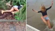 """Il fait des """"blagues"""" à sa copine mannequin: la vidéo qui va trop loin"""