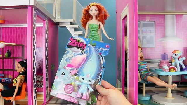 Surprise Eggs & Surprise Toys DOLLHOUSE ❤ Shopkins Frozen Elsa Barbie DisneyCarToys