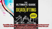 Deadlift  The ultimate guide to Deadlifting How Compound Weight Training Workout and