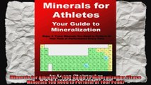 Minerals for Athletes  Your Guide to Mineralization Trace Minerals You Need to Perform