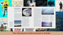 Download  The Backyard Astronomers Guide PDF Free