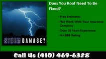 Guilford, MD Hail Damage Roof Repair Call (410) 469-6328