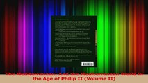 PDF Download  The Mediterranean And the Mediterranean World in the Age of Philip II Volume II Download Full Ebook