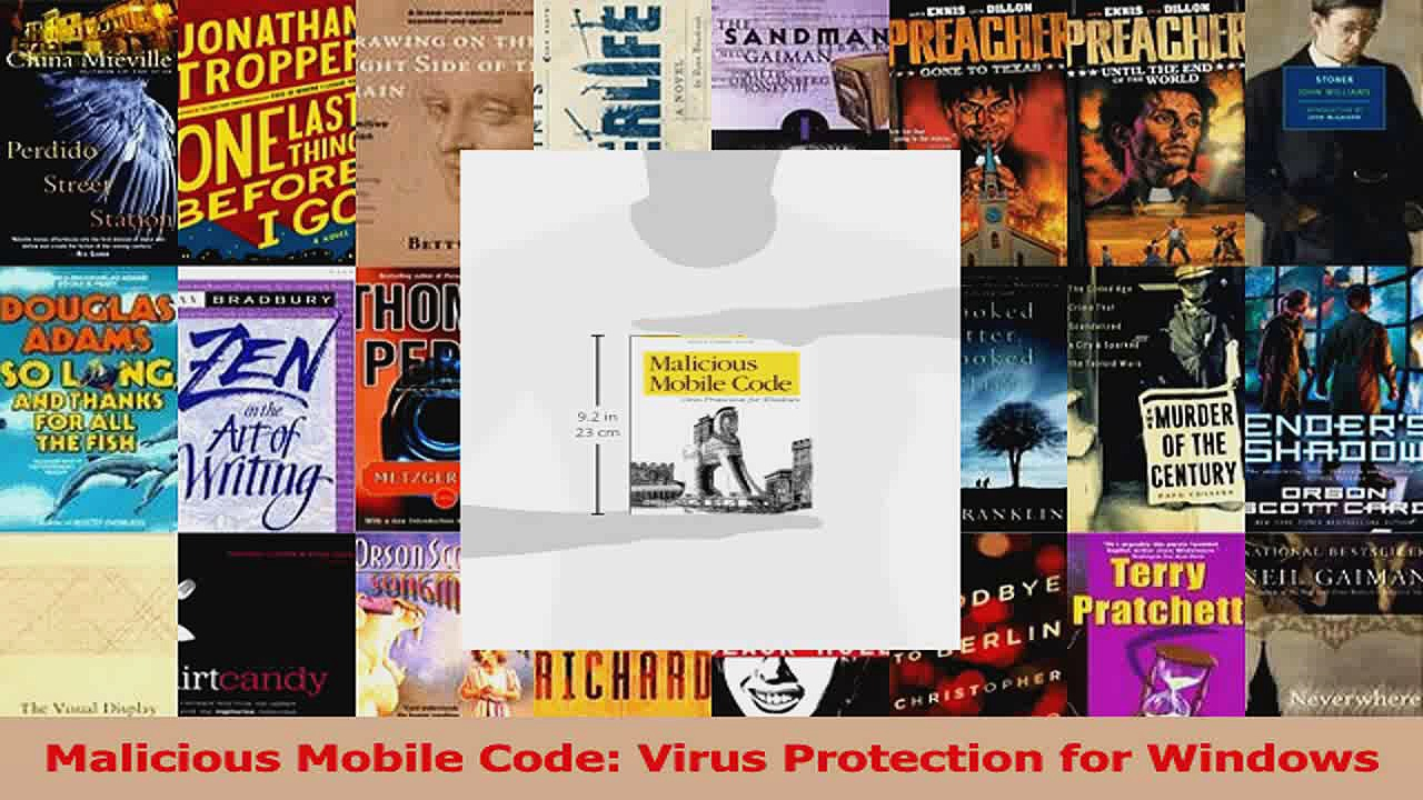 Malicious Mobile Code Virus Protection for Windows PDF