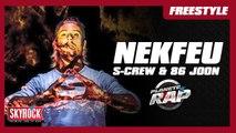 Nekfeu x S-crew x 86 Joon freestyle - Planète Rap #FeuRéédition