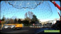 Geodesic Dome-Pavilion for events D28m, Nissan Juke Motor Show Bologna