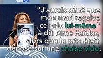Raïf Badawi condamné à 1000 coups de fouet: Le cri de coeur de sa femme au Parlement européen !