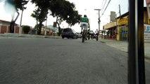 HOHOHO, Papai Noel, Noel nas trilhas faça chuca ou sol, Papai noel na bike,  com os amigos bikers, Tremembé, SP, Brasil, 2015