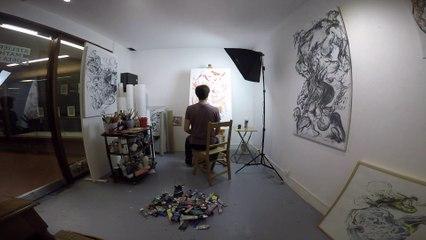 Création à l'Atelier Mathias Costa - Portrait d'Artiste