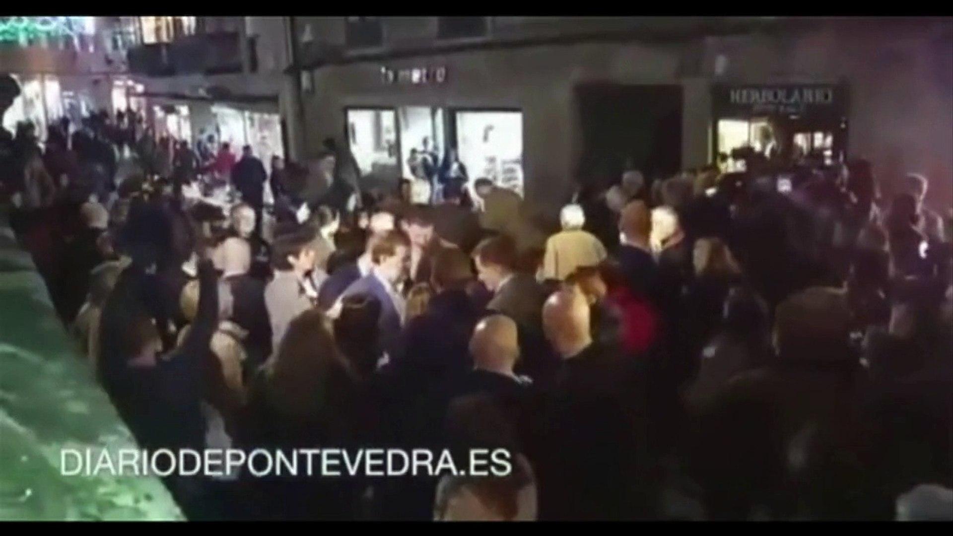 Espanha: Rajoy leva soco em plena campanha eleitoral