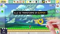 Super Mario Maker - Nouvelles fonctionnalités pour 22 décembre 2015